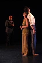 Alicia Díaz, Matthew Thornton and José Joaquín García Photo: Hiroyuki Ito